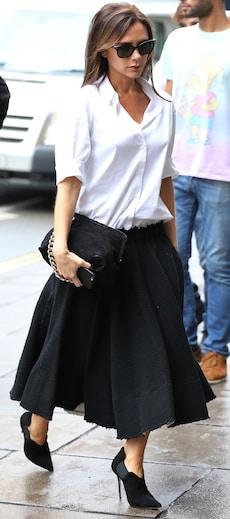 Style den eleganten Look der Stilikone hier nach