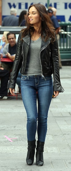 Megan Fox, das Biker Girl